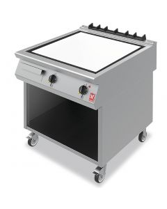 This is an image of a Falcon F900 Chromed Steel 800mm Griddle on Mobile Stand E9581CR