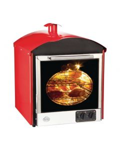 This is an image of a Bake King Solo Oven Red (Direct)