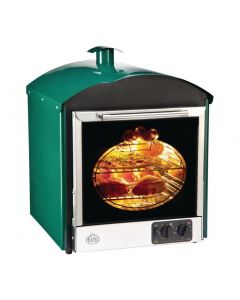 This is an image of a Bake King Solo Oven Green (Direct)