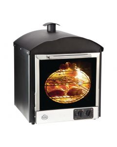 This is an image of a King Edward Bake King Solo Oven Black BKS-BLK