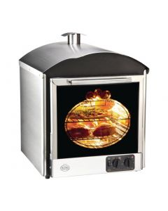 This is an image of a King Edward Bake King Solo Oven Stainless Steel BKS-SS