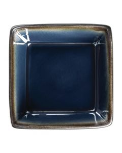 "This is an image of a Olympia Nomi Blue Tapas Square Bowl - 110x50mm 43x2"" 342ml 12oz (Box 6)"