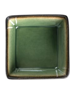 "This is an image of a Olympia Nomi Green Tapas Square Bowl - 110x50mm 43x2"" 342ml 12oz (Box 6)"