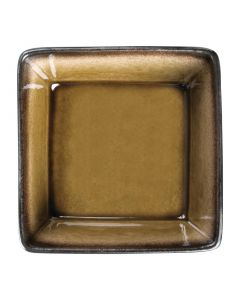 "This is an image of a Olympia Nomi Yellow Tapas Square Bowl - 43x2"" 110x50mm 342ml 12oz (Box 6)"