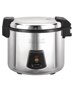 This is an image of a Buffalo Commercial Rice Cooker 6Ltr