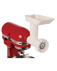 This is an image of a Mincer Accessory for Kitchenaid Mixers