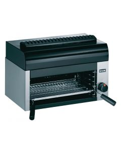 This is an image of a Lincat Silverlink 600 Salamander Natural Gas Grill GR3N