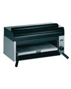This is an image of a Lincat Silverlink 600 Salamander Natural Gas Grill GR7N