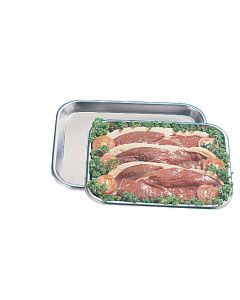"""This is an image of a Butchers Tray StSt - 12x9 12"""""""