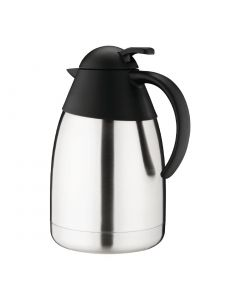 This is an image of a Vacuum Jug StSt Domed Lid - 15Ltr