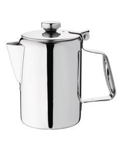 This is an image of a Olympia Concorde Coffee Pot StSt Mirror Finish - 570ml 20oz