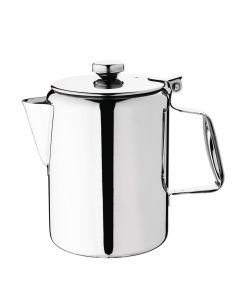 This is an image of a Olympia Concorde Coffee Pot StSt Mirror Finish - 900ml 32oz