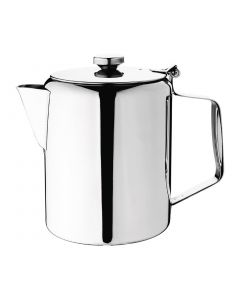 This is an image of a Olympia Concorde Coffee Pot StSt Mirror Finish - 1400ml 48oz