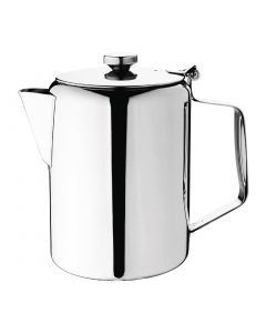 This is an image of a Olympia Concorde Coffee Pot StSt Mirror Finish - 1990ml 70oz