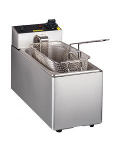 This is an image of a Buffalo Single Tank Countertop Fryer 3Ltr