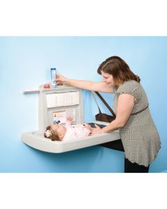 This is an image of a Rubbermaid Baby Changing Station