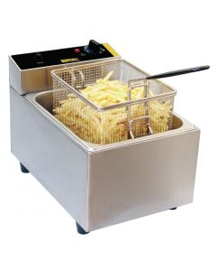 This is an image of a Buffalo Single Tank Countertop Fryer 5Ltr