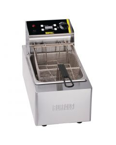 This is an image of a Buffalo Heavy Duty Single Tank Countertop Fryer 5Ltr