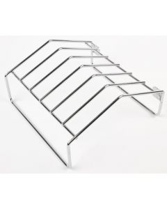 This is an image of a Santos Chromed Wire Disc Holding Rack for K308