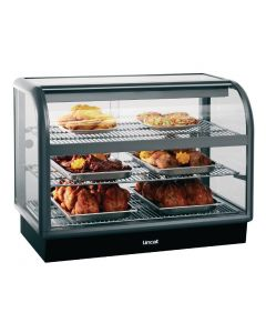 This is an image of a Lincat Seal 650 Curved Front Heated Display Unit C6H100B