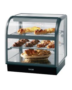 This is an image of a Lincat Seal 650 Curved Front Heated Display Unit C6H100S