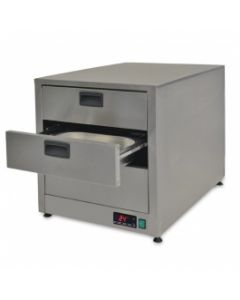 This is an image of a Moffat Digital Controlled Heated Drawers 2 x 11 - Fan Assisted (Direct) ghd2