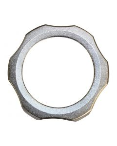 This is an image of a Santos Polished Threaded Nut for K309 (Direct)