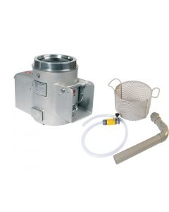 This is an image of a Metcalfe NA15 68kg Potato Peeler Aluminium (inc Install Kit) (Direct)