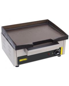 This is an image of a Buffalo Countertop Electric Griddle 385x 280mm