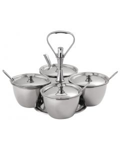 This is an image of a Revolving Relish Server - Four Bowls
