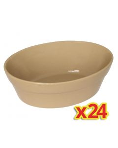 This is an image of a Olympia Oval Pie Bowls C108 (Box 24)