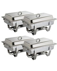 This is an image of a Milan Chafer Set Four Pack GN - 11