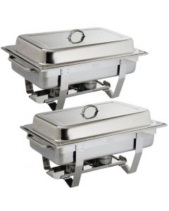 This is an image of a Milan Chafer Set Twin Pack Offer GN - 11