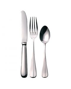 This is an image of a Baguette Cutlery Sample Set 180 (Table Knife Table Fork Dessert Spoon)