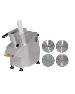 This is an image of a Buffalo Multi-function Continuous Veg Prep G784 with 4 discs