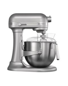 This is an image of a Kitchenaid Heavy Duty Mixer - Silver with Free WEEE Collection