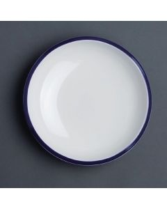 "This is an image of a Olympia Brighton Pasta Bowl - 220x46mm 8 12"" 690ml 24oz (Box 6)"