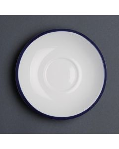 "This is an image of a Olympia Brighton Saucer - 150x24mm 6"" (Box 6)"