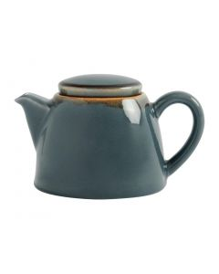 This is an image of a Olympia Kiln Ocean Teapot - 510ml 18oz (Box 4)