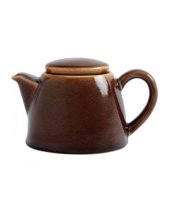 This is an image of a Olympia Kiln Bark Teapot - 510ml 18oz (Box 4)