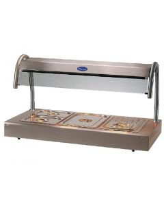 This is an image of a Victor Caribbean Bain Marie Topper CTB1