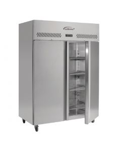This is an image of a Williams Jade 2 Door 1295Ltr Cabinet Meat Fridge MJ2-SA