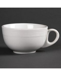 This is an image of a Olympia Linear Cappuccino Cup - 206ml 7oz (Box 12)