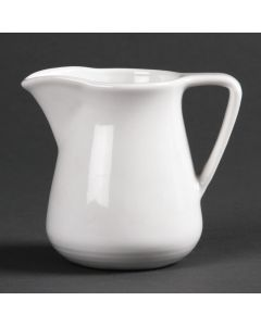 This is an image of a Olympia Linear Cream Jug - 5oz (Box 12)