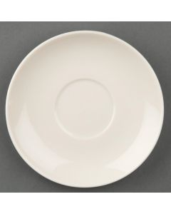 This is an image of a Olympia Ivory Espresso Coffee Saucer (Box 12)