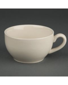 This is an image of a Olympia Ivory Cappuccino Cup - 284ml 10oz (Box 12)