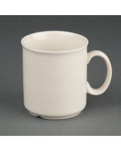 This is an image of a Olympia Ivory Mug - 200ml 8oz (Box 12)