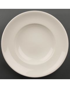 """This is an image of a Olympia Ivory Pasta Plate - 31cm 12"""" (Box 6)"""