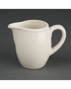 This is an image of a Olympia Ivory Milk Jug - 3oz (Box 6)