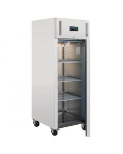 This is an image of a Polar Heavy Duty Single Door Fridge Stainless Steel 650Ltr